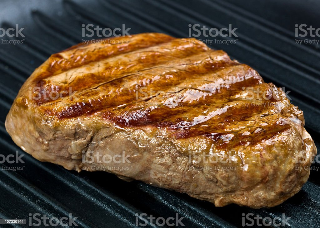 Grilled Fillet royalty-free stock photo