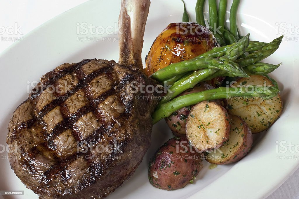 Grilled Fillet Steak royalty-free stock photo
