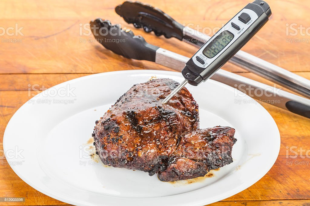 Grilled Kobe Steak stock photo