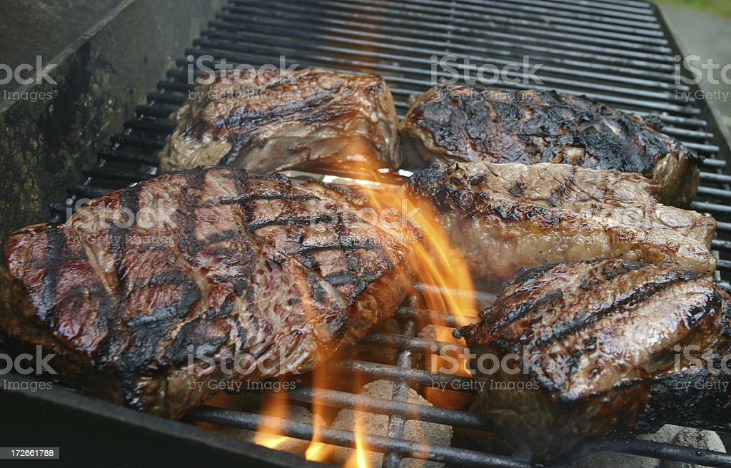 Grilled royalty-free stock photo