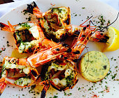 Grilled Scampi, South of France