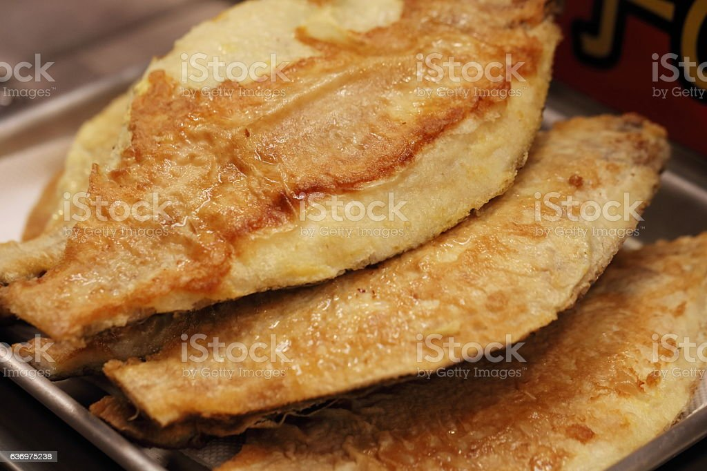 Grilled Sole stock photo