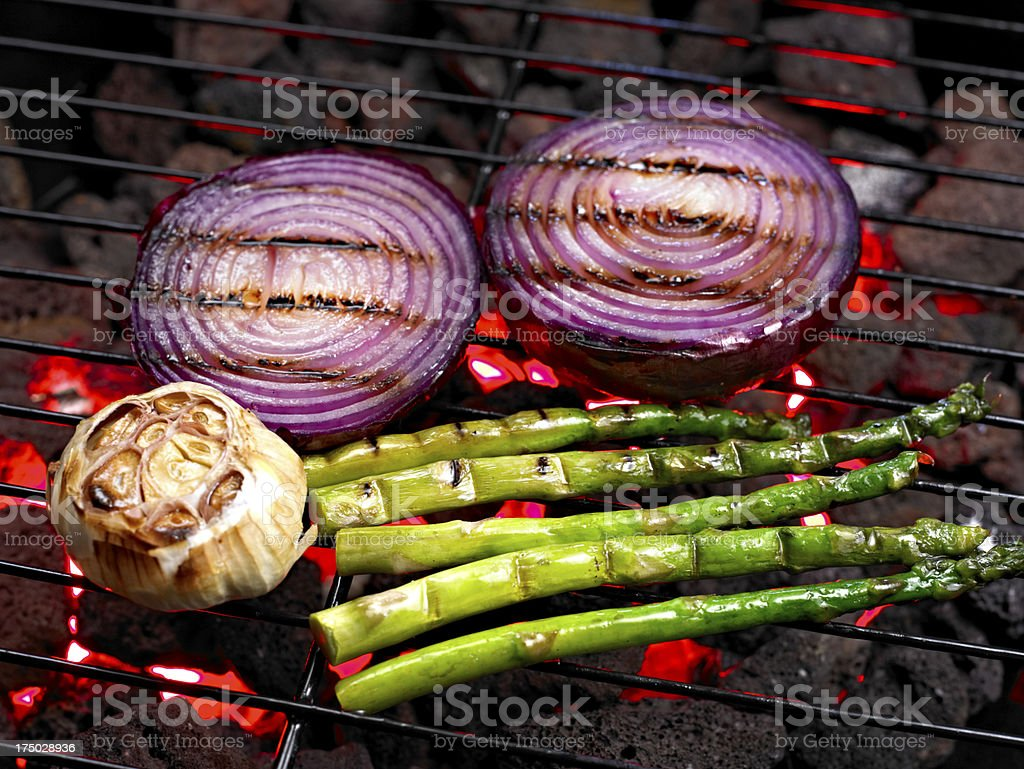 Grilled Vegetable stock photo