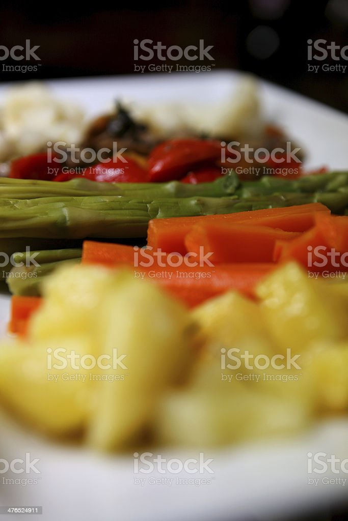 verdure grigliate royalty-free stock photo