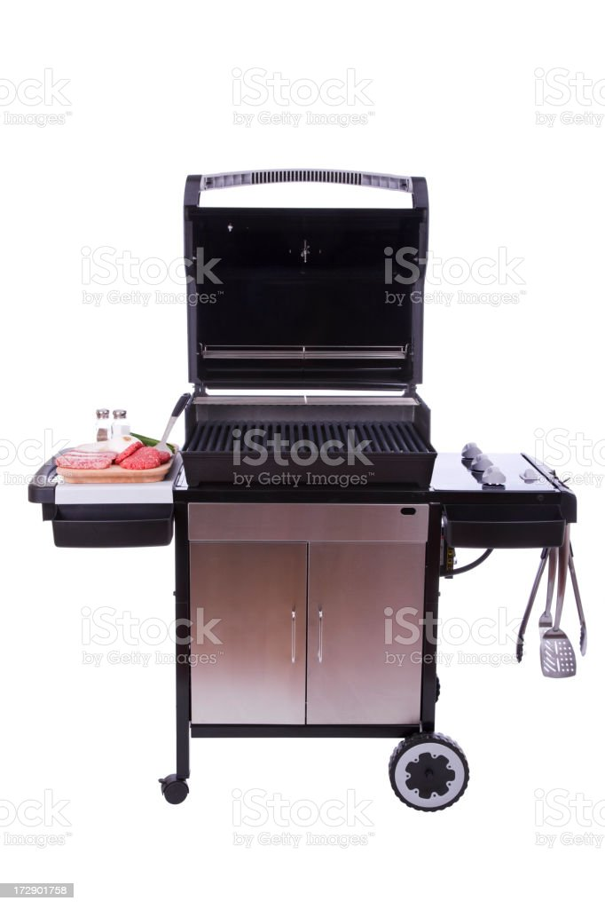 Grilling Out (XXL) royalty-free stock photo