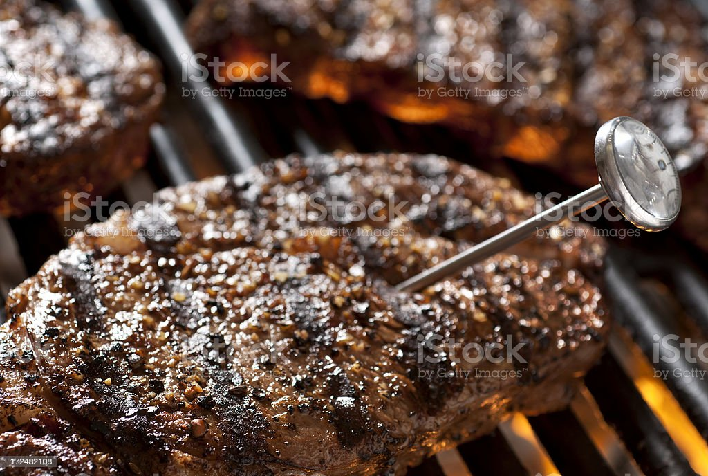 Grilling Safety stock photo