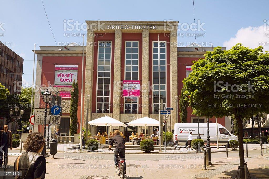 Grillo theatre in Essen stock photo