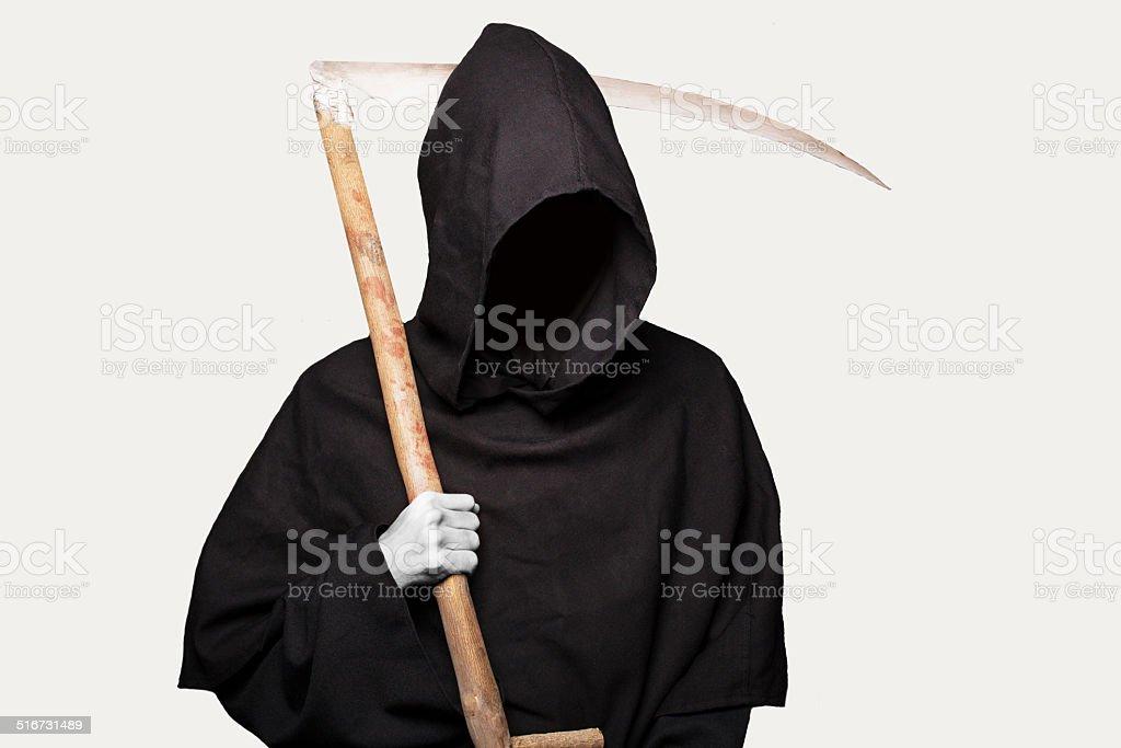 Grim reaper. Halloween stock photo