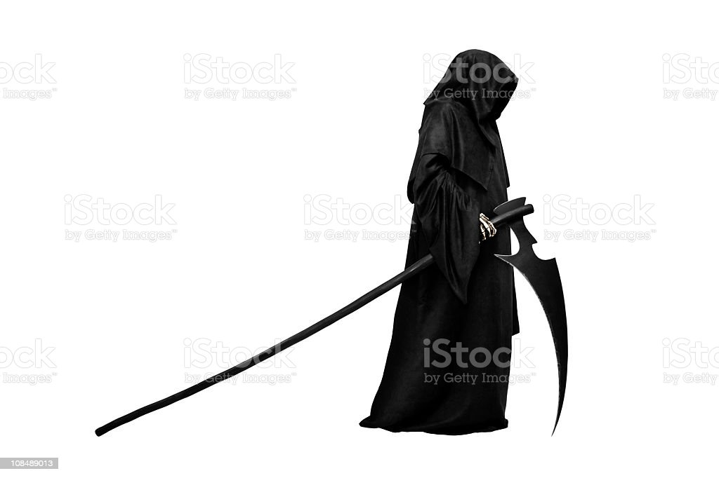 Grim Reaper royalty-free stock photo
