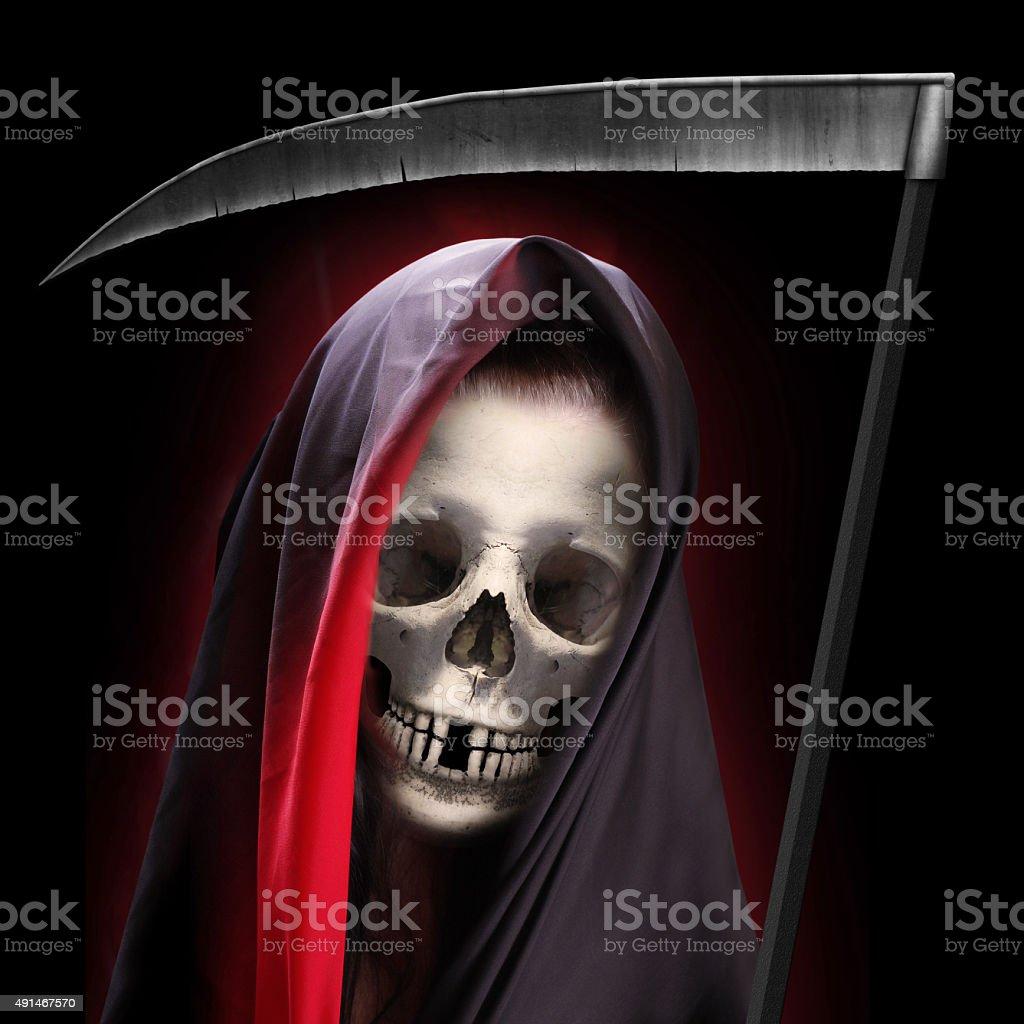 Grim reaper. stock photo