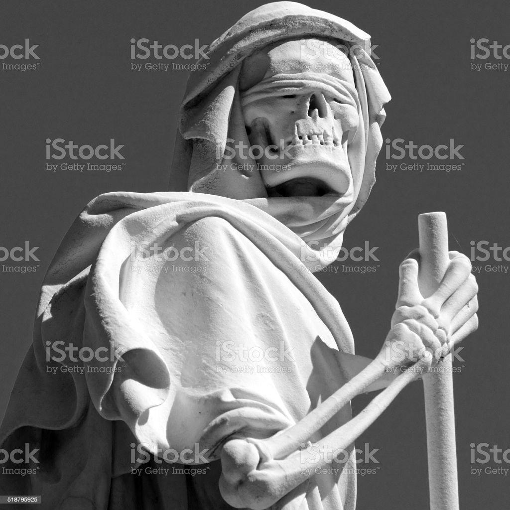 grim reaper stock photo
