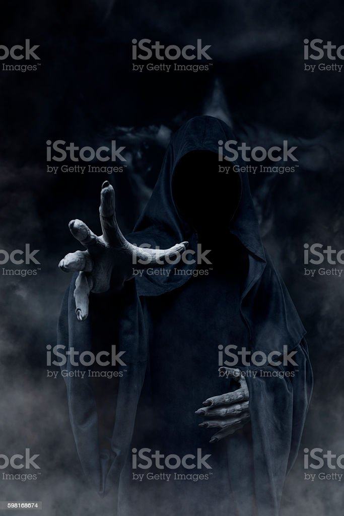 Grim Reaper stock photo