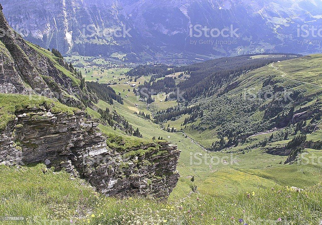 Grindelwald royalty-free stock photo