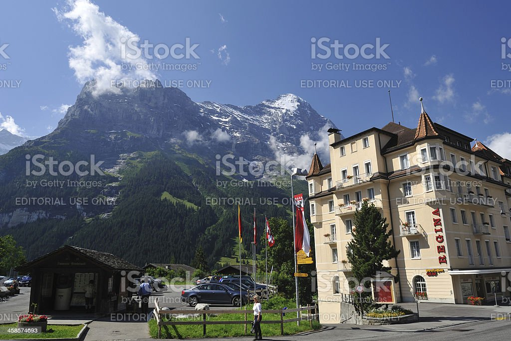 Grindelwald Village royalty-free stock photo