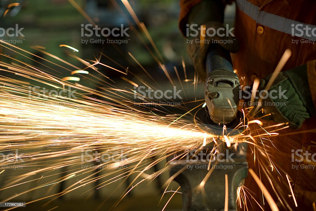 Grinder Mouth royalty-free stock photo