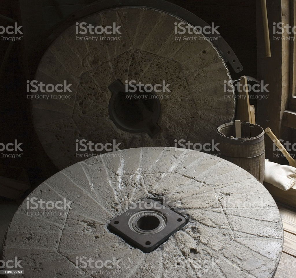 Grinding Wheels stock photo