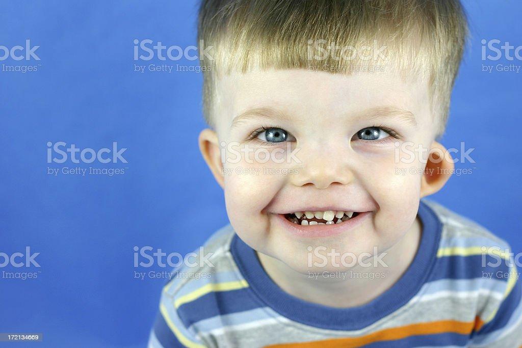 grinning boy royalty-free stock photo