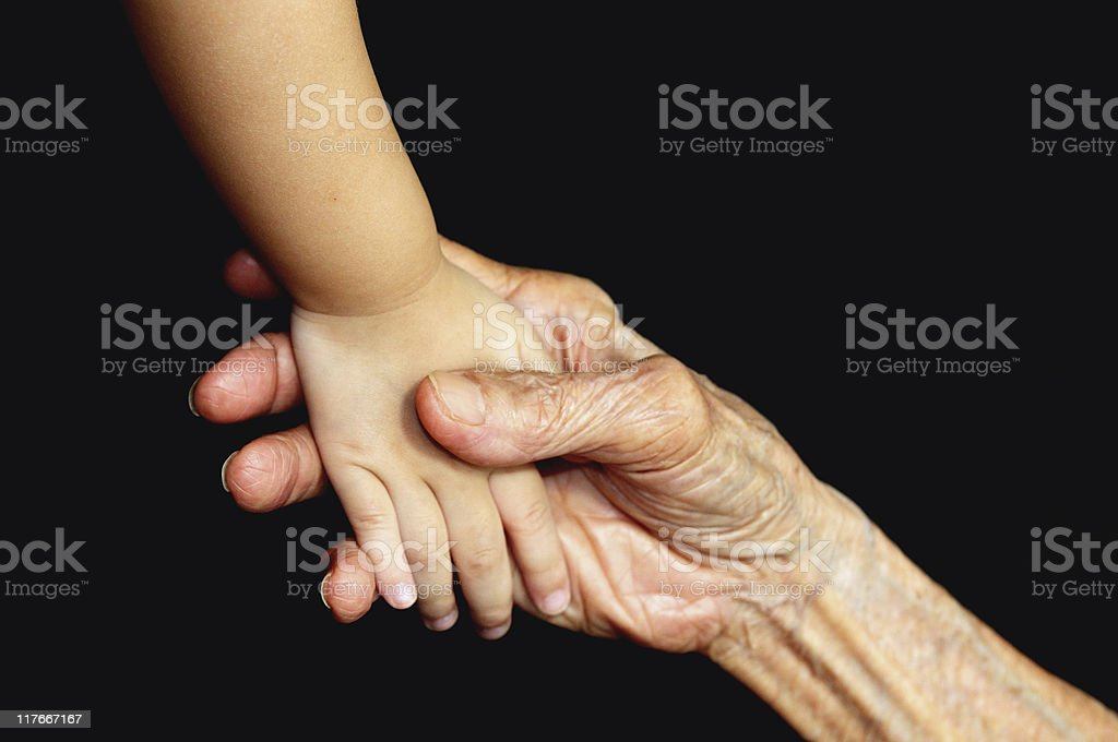 grip of love royalty-free stock photo