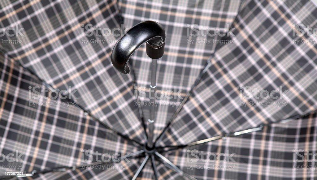 grip of umbrella stock photo