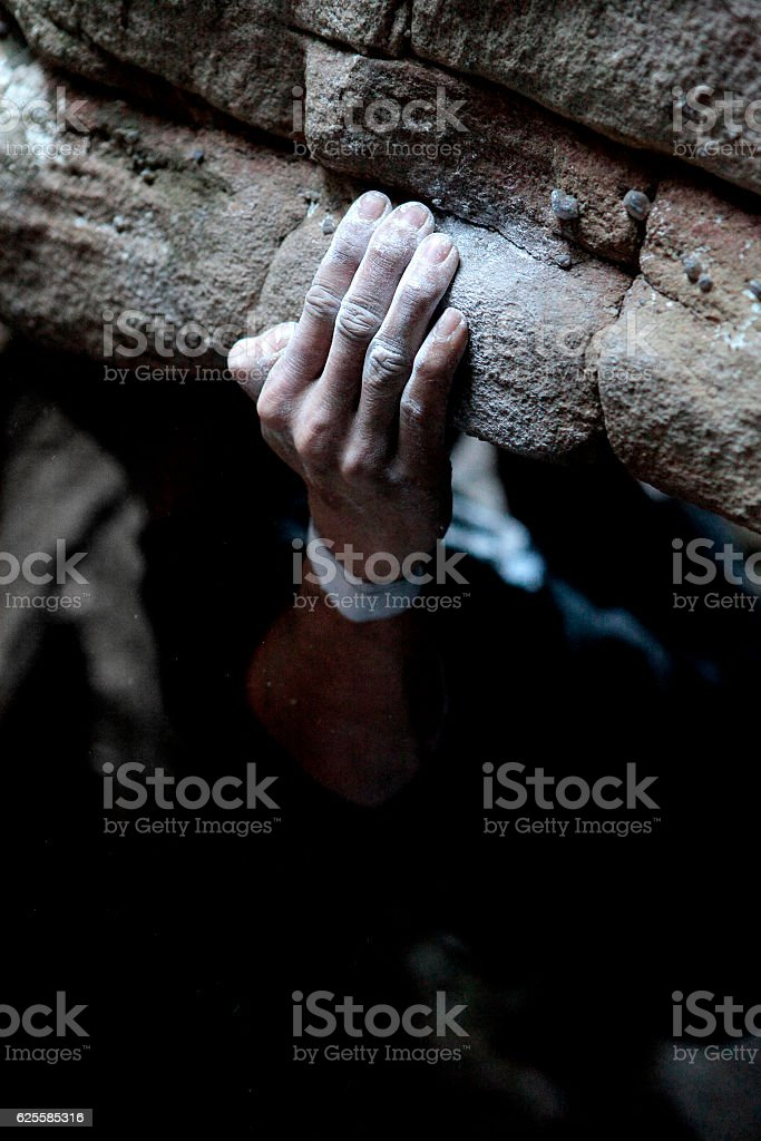 Gripped stock photo