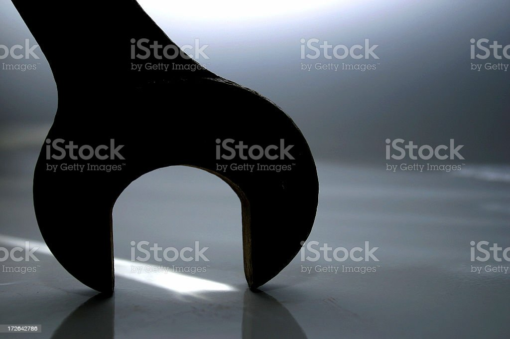 gripping light royalty-free stock photo