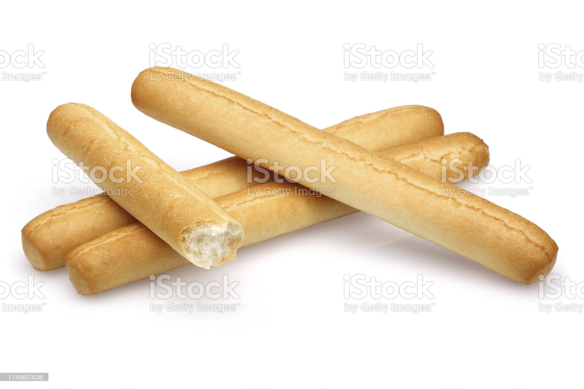 Grissini ( breadstick ) royalty-free stock photo