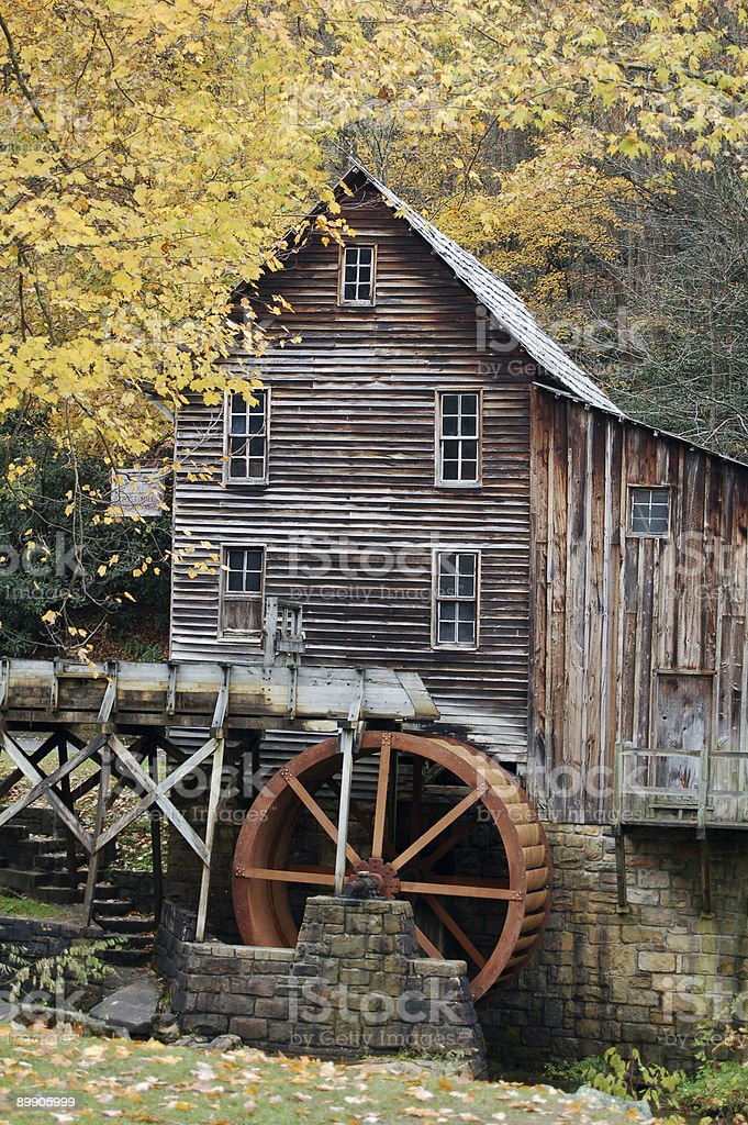 Grist Mill royalty-free stock photo