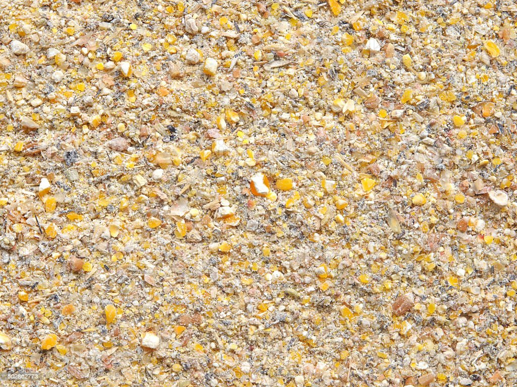 Grist mill Poultry Mix stock photo