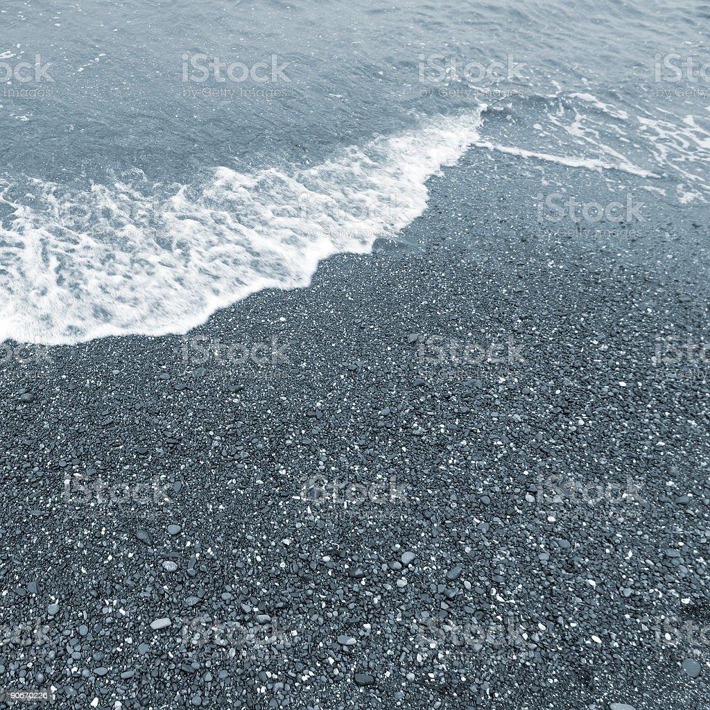 Grit Beach stock photo