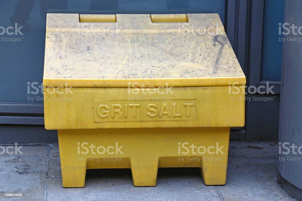 Grit Salt stock photo
