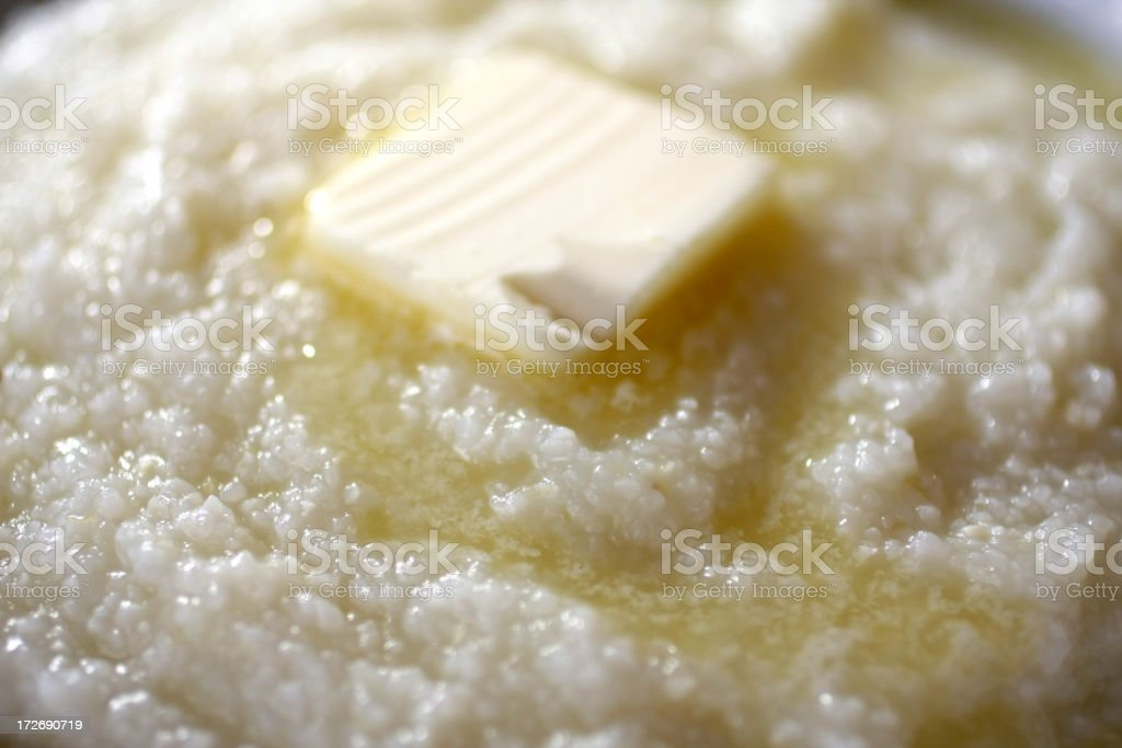 Grits stock photo