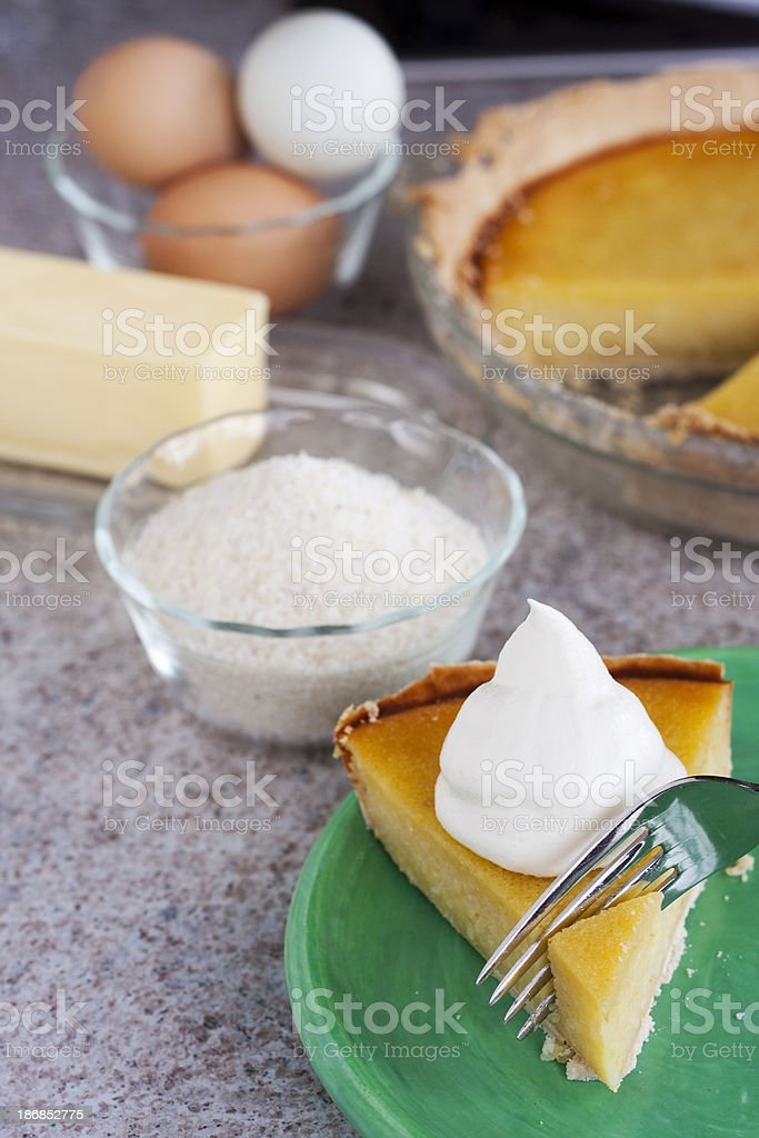 Grits Pie royalty-free stock photo