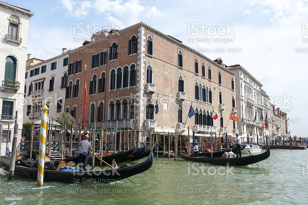 Gritti Palace royalty-free stock photo