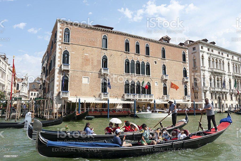 Gritti Palace stock photo