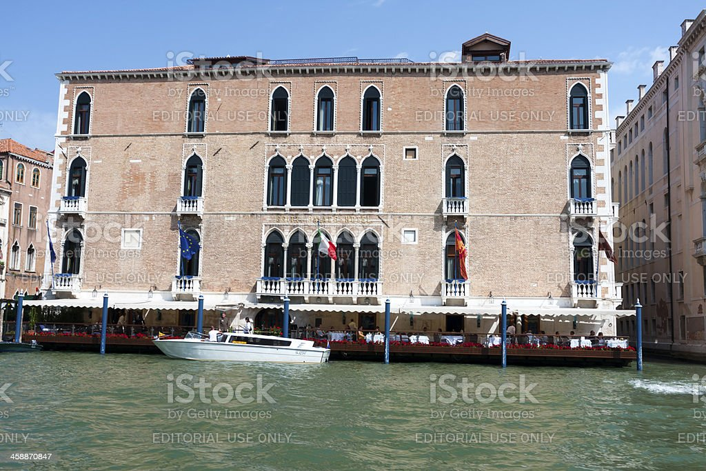Gritti Palace royalty-free stock photo