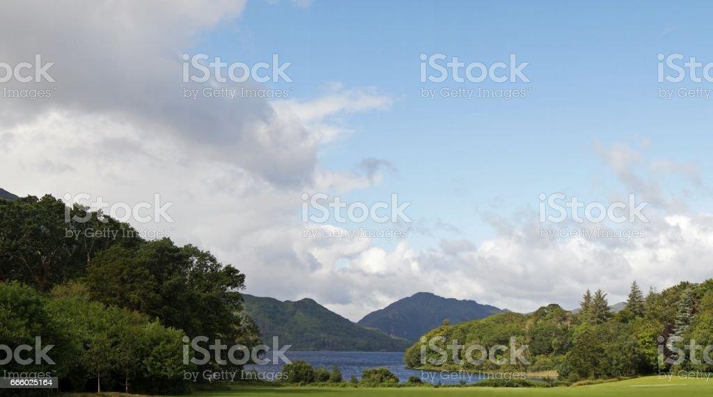 grüne Insel Irland - Muckross See stock photo
