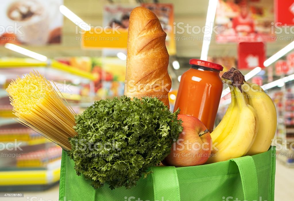Groceries, Healthy Eating, Food stock photo