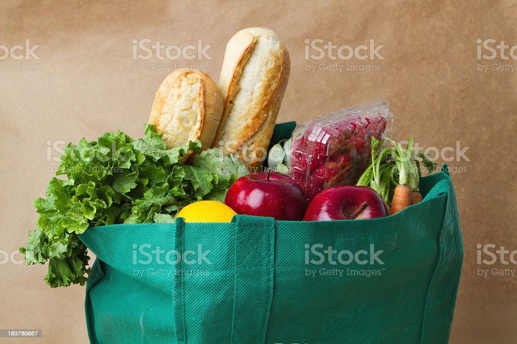 Groceries stock photo