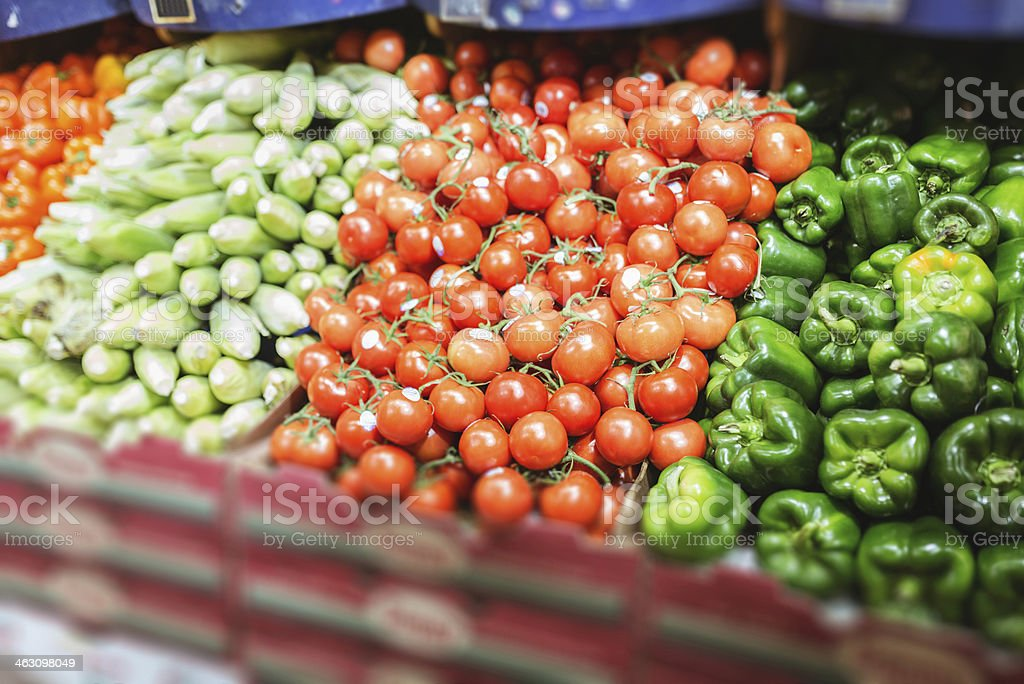grocery market shop lightbox royalty-free stock photo