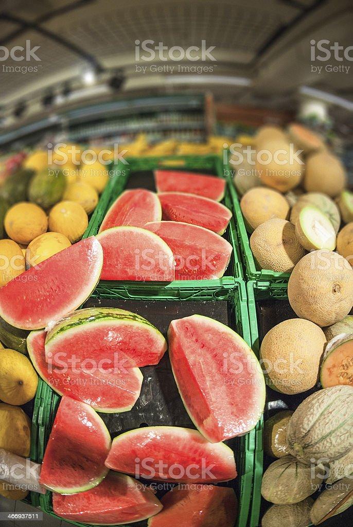grocery market shop lightbox royalty-free stock photo