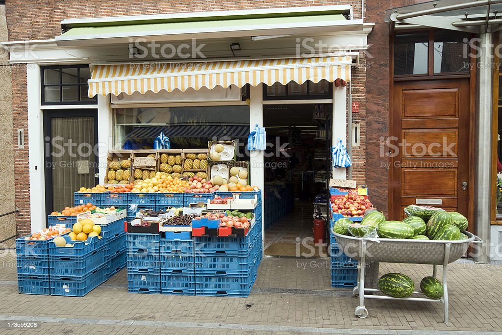Grocery shop royalty-free stock photo