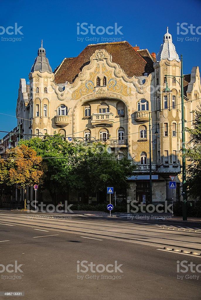 Grof Palace - Szeged, Hungary royalty-free stock photo