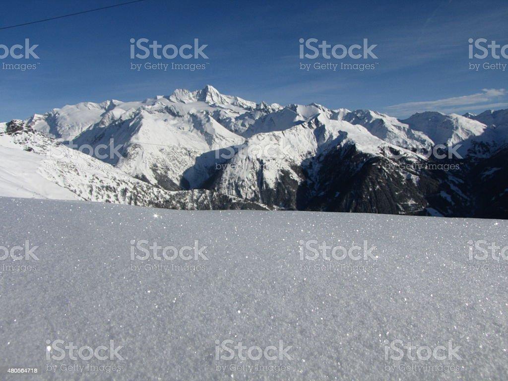 Gro?glockner 3798m , Austria stock photo
