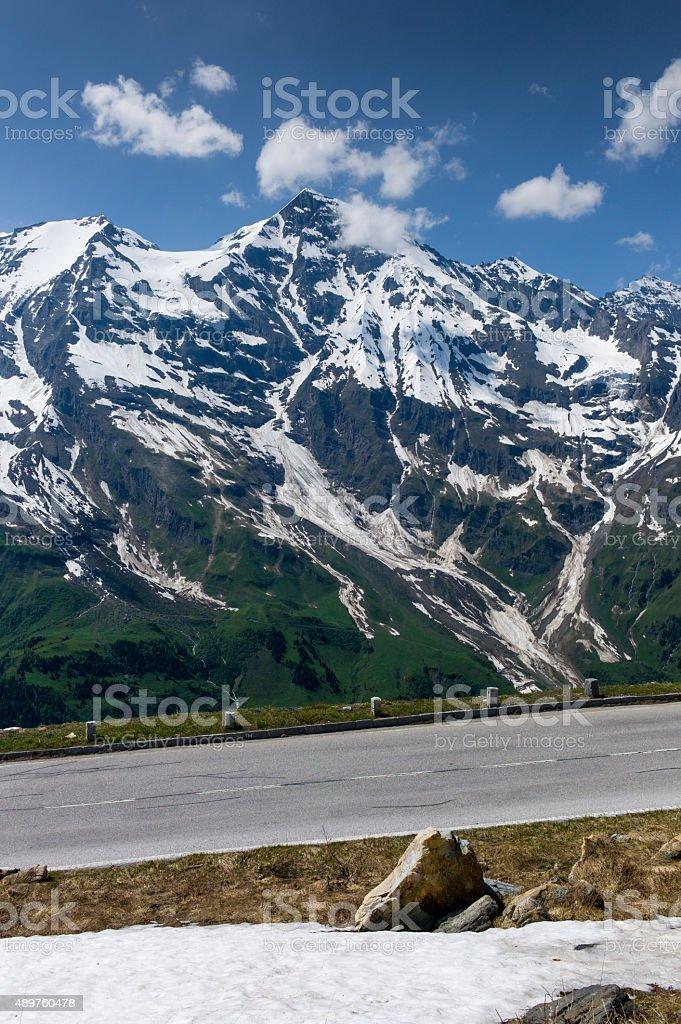 Gro?glockner Alpine Pass Austria stock photo