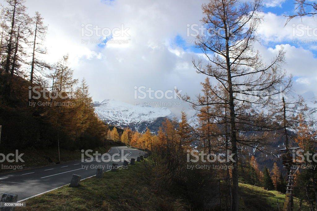 großglockner hochalpenstraße stock photo
