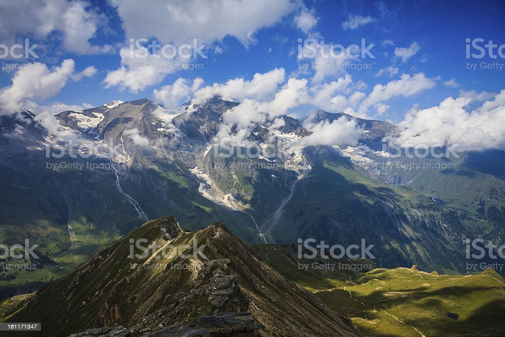 Gro?glocknerstra?e ?sterreich / Austria royalty-free stock photo