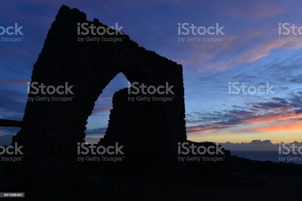 Gronez Castle, Jersey, U.K. stock photo