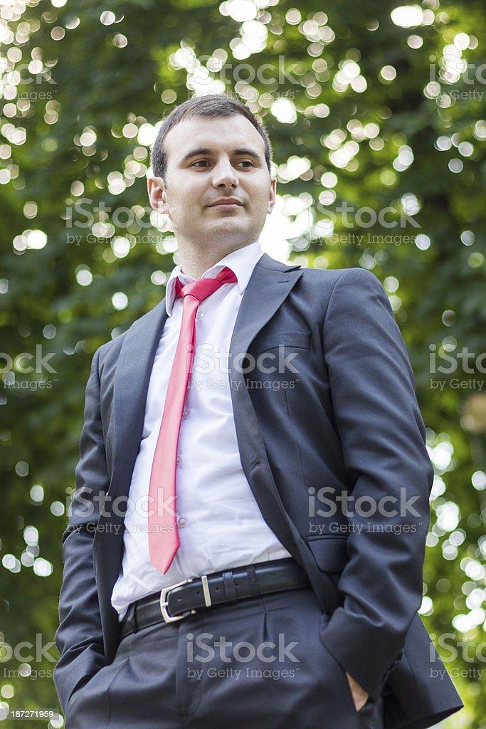 Groom royalty-free stock photo