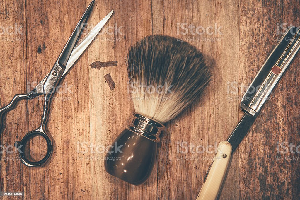 Grooming tools. stock photo