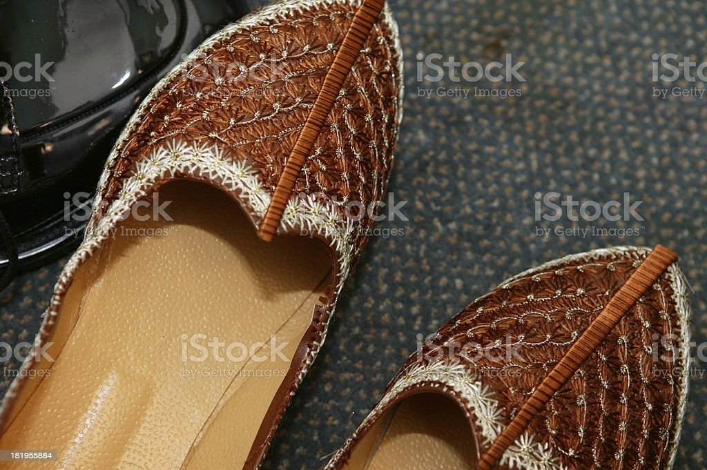grooms shoes royalty-free stock photo